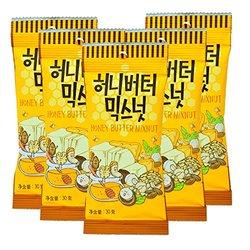 Prime会员!Tom's Farm 汤姆农场 蜂蜜黄油腰果坚食 30g*5袋  折19.9元/件