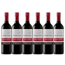 FRONTERA 远山 卡本妮苏维翁 干红葡萄酒 750ml*6瓶