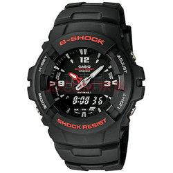 卡西欧(CASIO)手表G-SHOCK系列 防磁防震双显运动男表G-100-1B 330元【已结束】
