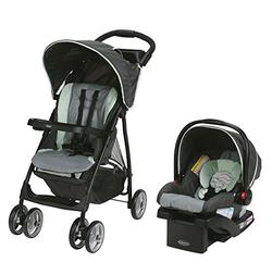 Prime会员!Graco LiteRider LX 折叠婴儿车+旅行车载提篮组合