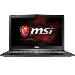 MSI 微星 GL72M 7REX-817CN 17.3英寸游戏笔记本电脑(i7-7700HQ 8G 1T+128GSSD GTX1050TI 4G WIN10)黑