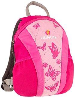LittleLife 小跑车系列 幼儿双肩背包 粉色    119.5元包邮