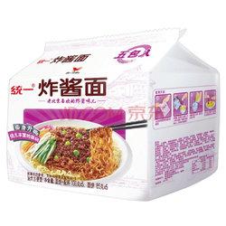 【京东超市】统一 方便面 老北京炸酱面 五连包