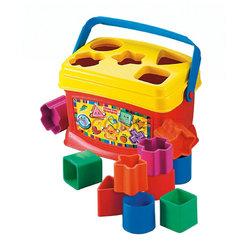 费雪 益智玩具 启蒙积木盒 BabysFirstBlocks K7167 折47.2元(59,2件8折)