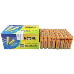 雷欧(MOTOMA)5号电池 碳性电池5号AA电池40节盒装 低功耗玩具挂钟遥控器鼠标电筒 40节盒装