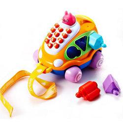 Auby 澳贝 启智系列 汽车电话 婴儿玩具 463404 *3件    137元(合45.67元/件)【已结束】