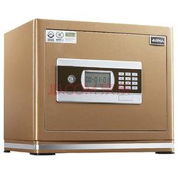 艾谱(AIPU)FDX-A/D-30WG 3c认证保险箱家用保险柜 30cm高保险柜家用入墙全钢 灵动报警系统 双锁双控 土豪金858元