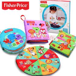 Fisher-Price 费雪 宝宝布书 4件套    29元包邮