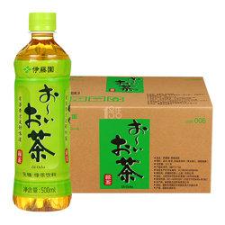 伊藤园 原味绿茶 500ml×24/箱  可满99减50