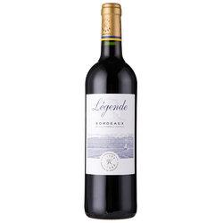 Legende 拉菲罗斯柴尔德集团荣誉出口 传奇波尔多法定产区红葡萄酒 750mL/瓶 法国进口