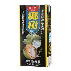 椰树 椰汁 植物蛋白饮料 1L/盒