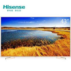 限广州:海信(hisense) LED43M5000U 43英寸 4K  智能 香槟金 电视