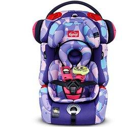 感恩 儿童安全座椅 爸爸去哪儿定制款 isofix硬接口座椅 9月-12岁 气球紫(供应商直送)【已结束】