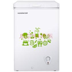容声(Ronshen)BD/BC-100MB 100升家用小型冰柜 冷藏冷冻转换 迷你冷柜 节能单温冰箱688元