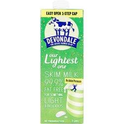 德运Devondale脱脂纯牛奶1L*10盒/箱