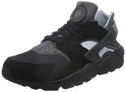 Nike 耐克 男 休闲跑步鞋NIKE AIR HUARACHE RUN SE  852628-001 BLACK/WOLF GREY-WOLF GREY-ANTHRACITE 40 (US 7)【已结束】