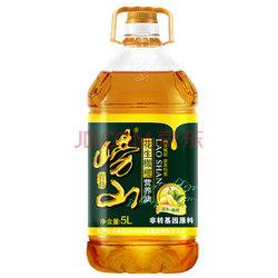 崂山 花生橄榄调和油 食用油5L 物理压榨 非转基因