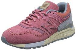New Balance 女 休闲跑步鞋 997系列  WL997HSP-B-55 桃红色 36 (US 5.5)【已结束】