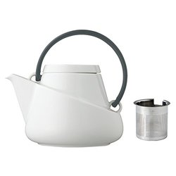 Kinto Ridge系列 白瓷茶壶 带滤网 750ML 3色【已结束】