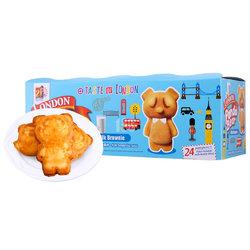 伦敦熊熊蛋糕 (牛奶口味) 480g 马来西亚进口