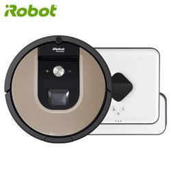 11日0点、历史新低: iRobot Roomba 961 扫地机器人+Braava 381 拖地机器人    5999元包邮