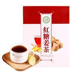 山茶新语红糖姜茶速溶姜母茶老姜汤姨妈茶12袋装144g