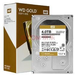 西部数据(WD)金盘 4TB SATA6Gb/s 7200转128M 企业硬盘(WD4002VYYZ)1299元