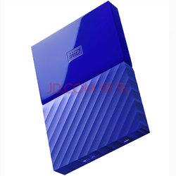 西部数据(WD)My Passport 2TB 2.5英寸 贵族蓝 移动硬盘 WDBYFT0020BBL-CESN
