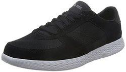 Skechers 斯凯奇 ON-THE-GO系列 男 生活休闲鞋 轻质绑带休闲鞋 53778-BKW 黑色/白色 41 (US 8)