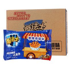 魔法士干脆面 方便面 香烤鸡翅味干脆面26g*48 整箱装