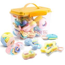 贝恩施(beiens)婴儿摇铃牙胶手摇铃宝宝新生婴儿玩具 B225  折35.67元(69,满199-100)