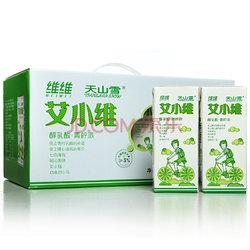 维维 艾小维 天山雪醇乳酸 青柠味酸奶 250ml*12盒