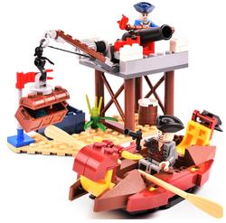 COODY 古迪 海岸防线 积木玩具    14.9元包邮(需用券)