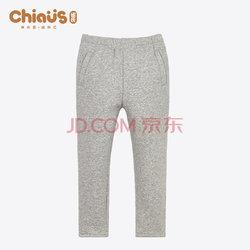 Chiaus 雀氏  加绒加厚男童裤子