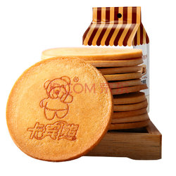 卡宾熊 饼干蛋糕 早餐 休闲零食 蜜松鸡蛋煎饼 160g13.9元