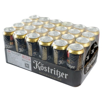 KOSTRITZER 卡力特 黑啤酒 500ml*24听 *2件