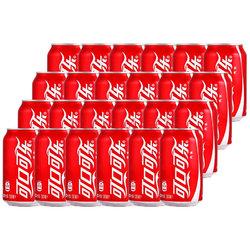 可口可乐 汽水 330ml*6*4 整箱装