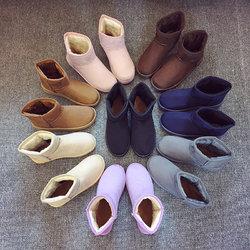 彩兹2017冬季女士雪地靴