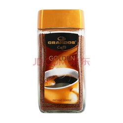 德国进口: GRANDOS 格兰特 金速溶咖啡(黑咖啡) 200g*3件142.2元包邮(下单6折)