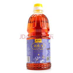 宁夏 索米亚 清香型胡麻油(传统小磨压榨)亚麻籽油1.8L *5件+凑单品    169元(合33.8元/件)