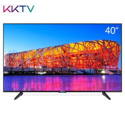 KKTV K40 40英寸全高清智能网络WiFi液晶平板电视机 康佳出品(黑色)