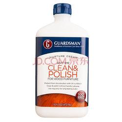 美国进口GUARDSMAN木地板蜡精油乳霜清洁剂