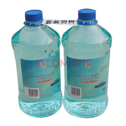 锐神(ruishen)汽车玻璃水2kg*2瓶(对装) 去雾剂 玻璃清洁剂 不含甲醛 快干型0度以上