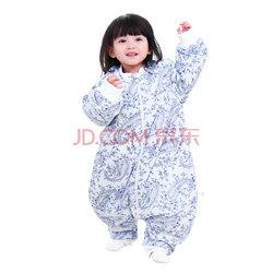 象宝宝(elepbaby)婴儿睡袋 宝宝秋冬款加厚针织棉分腿睡袋  折84.5元(2件5折)