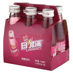 日加满牌蔓越莓营养素(无糖)碳酸饮料120ml*6瓶