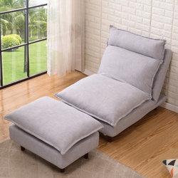 贵人家源 北欧风格懒人沙发 单人位+脚踏    538元包邮