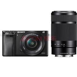 索尼(SONY) ILCE-6000L APS-C双镜头超长焦段微单套机 黑色(2430万有效像素 16-50/55-210 a6000/α6000)4799元