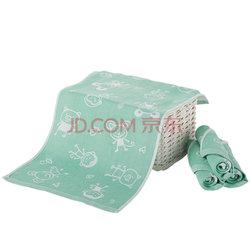 中国结 ZHONGGUOJIE  竹纤维双层纱布儿童毛巾  40g/条 30*50cm