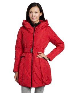 BINGFEI 冰飞 女式 羽绒服 艳红