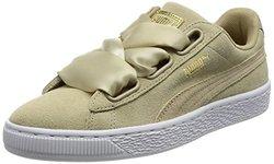 Puma 彪马 Heart Safari 麂皮女款板鞋